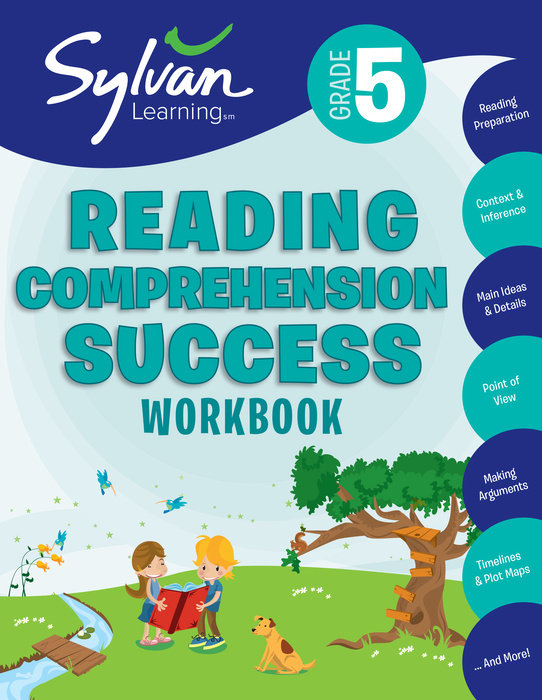 Cover of 5th Grade Reading Comprehension Success Workbook