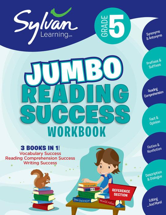 Cover of 5th Grade Jumbo Reading Success Workbook