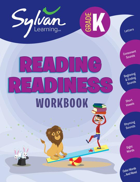 Cover of Kindergarten Reading Readiness Workbook