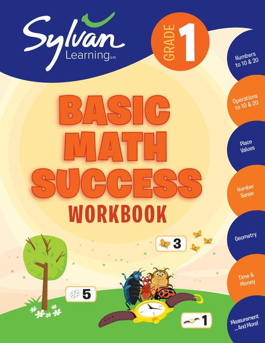 Cover of 1st Grade Basic Math Success Workbook