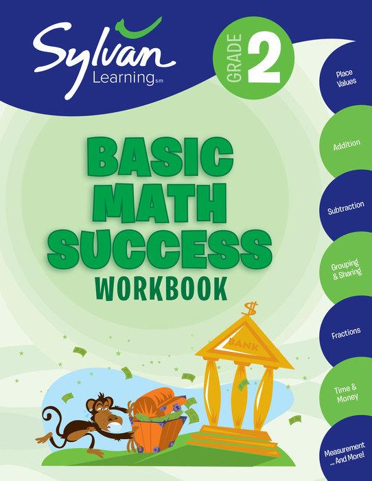 Cover of 2nd Grade Basic Math Success Workbook
