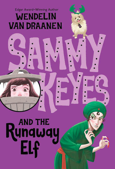 Cover of Sammy Keyes and the Runaway Elf