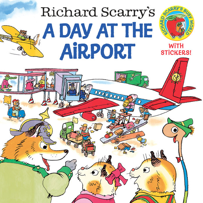 Cover of Richard Scarry\'s A Day at the Airport