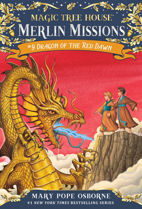 Cover of Dragon of the Red Dawn