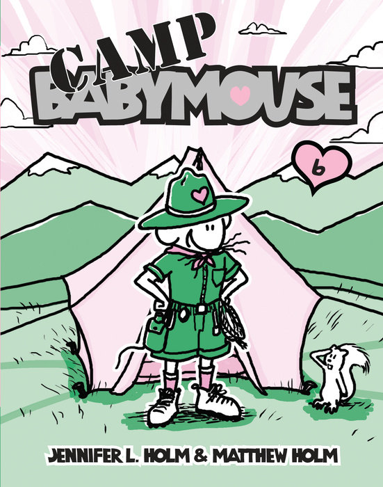 Cover of Babymouse #6: Camp Babymouse