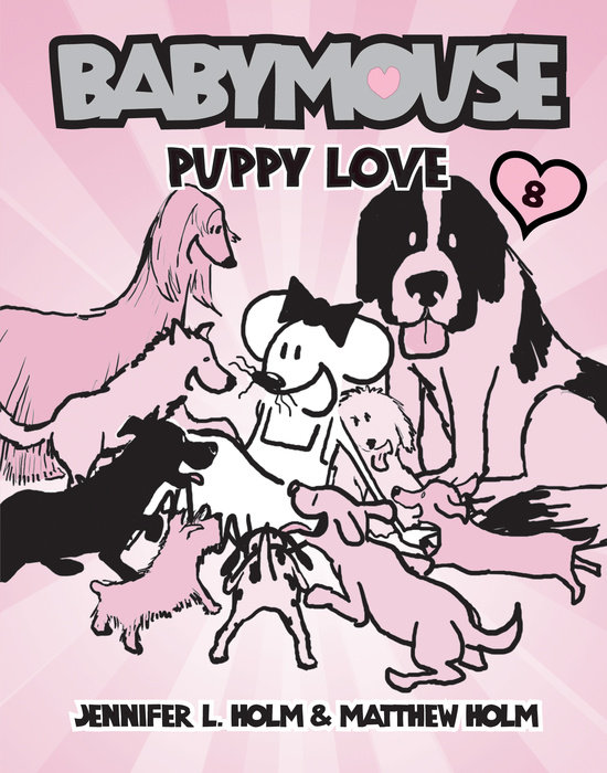 Cover of Babymouse #8: Puppy Love