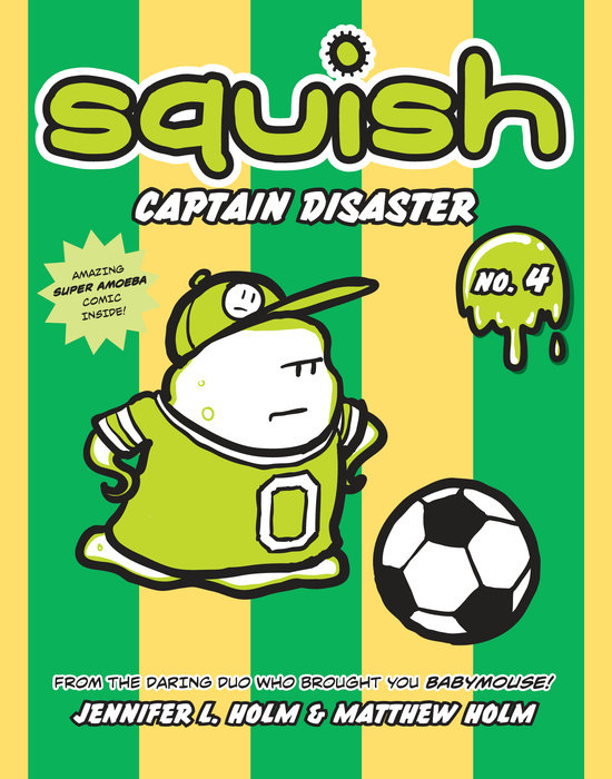 Cover of Squish #4: Captain Disaster