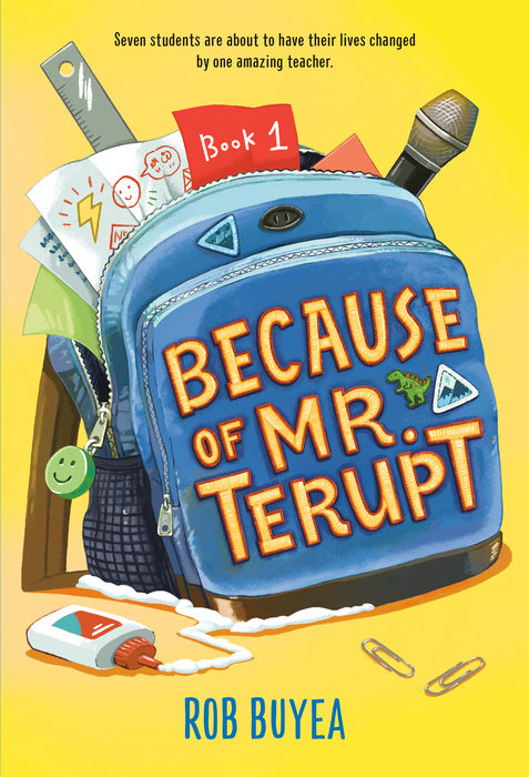 Cover of Because of Mr. Terupt