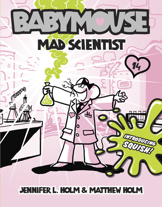 Cover of Babymouse #14: Mad Scientist