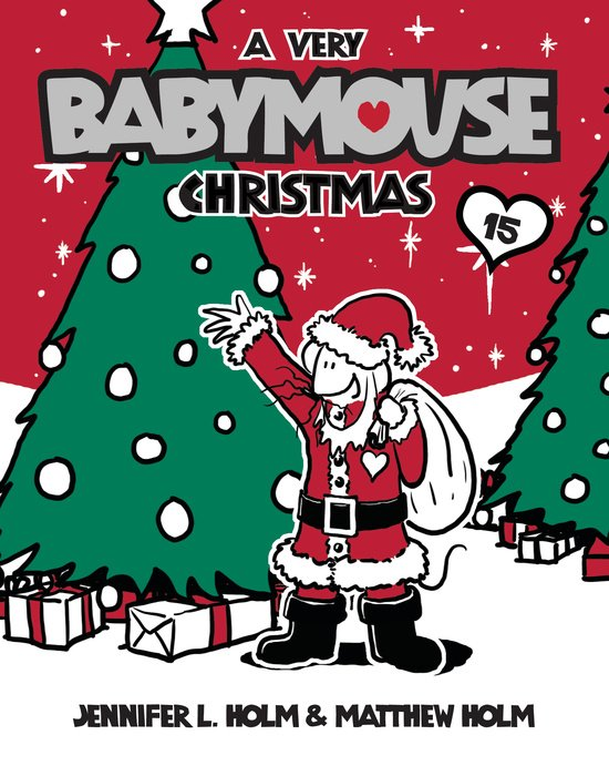 Cover of Babymouse #15: A Very Babymouse Christmas