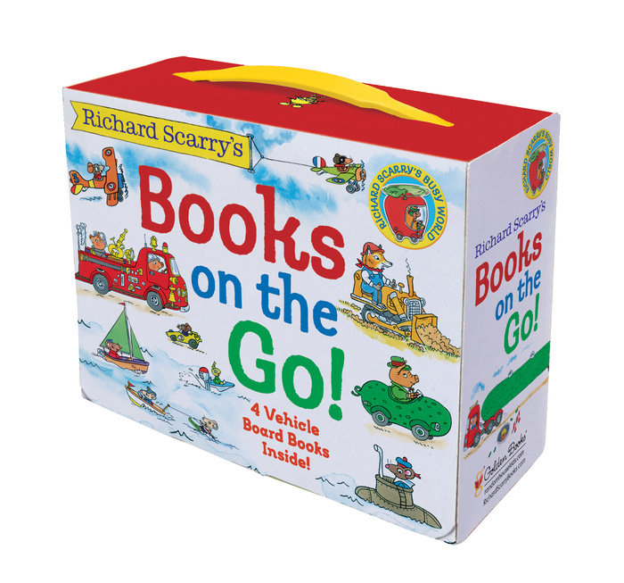 Cover of Richard Scarry\'s Books on the Go