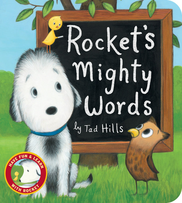 Cover of Rocket\'s Mighty Words