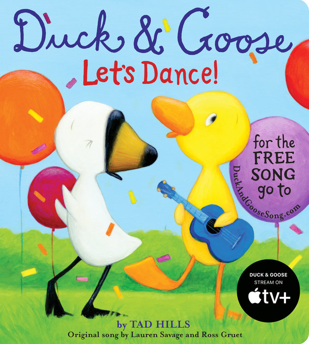 Cover of Duck & Goose, Let\'s Dance! (with an original song)