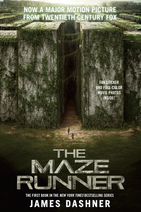 Cover of The Maze Runner Movie Tie-In Edition (Maze Runner, Book One)