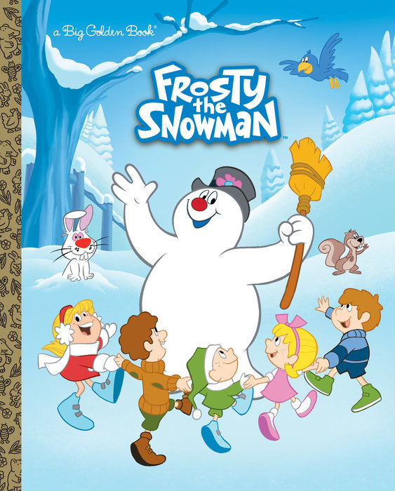Cover of Frosty the Snowman Big Golden Book (Frosty the Snowman)
