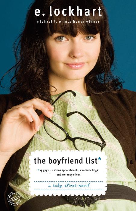 Cover of The Boyfriend List