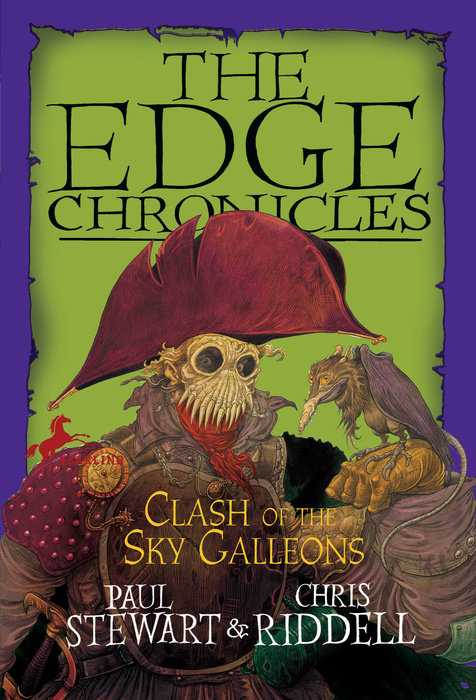 Cover of Edge Chronicles: Clash of the Sky Galleons