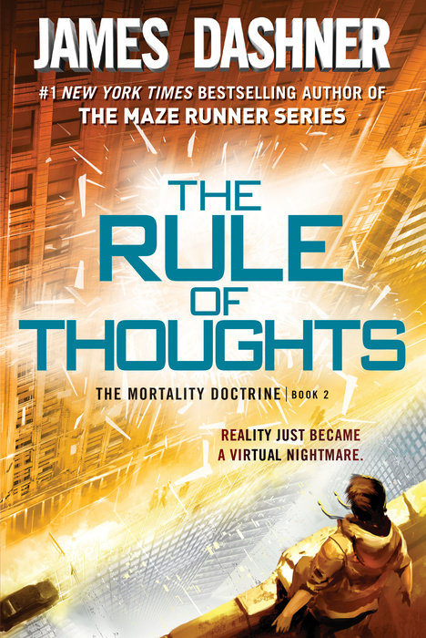 Cover of The Rule of Thoughts (The Mortality Doctrine, Book Two)