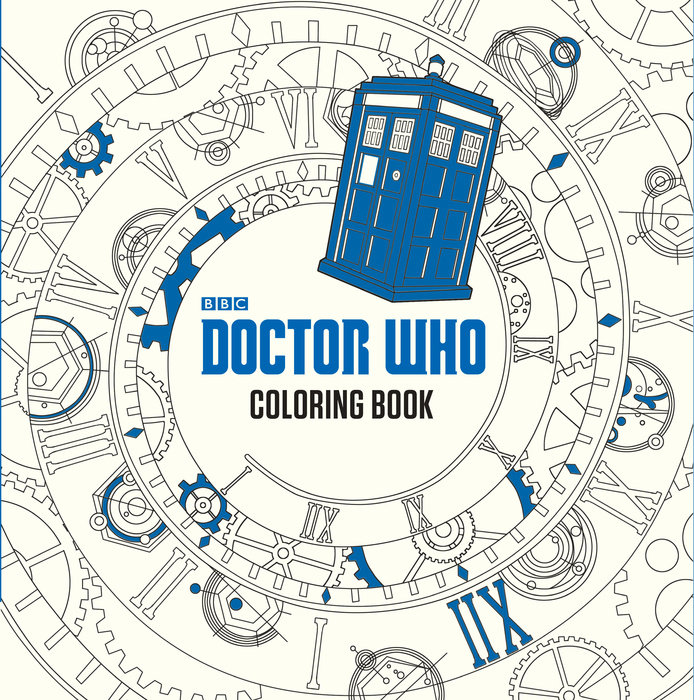 Doctor Who Coloring Book by
