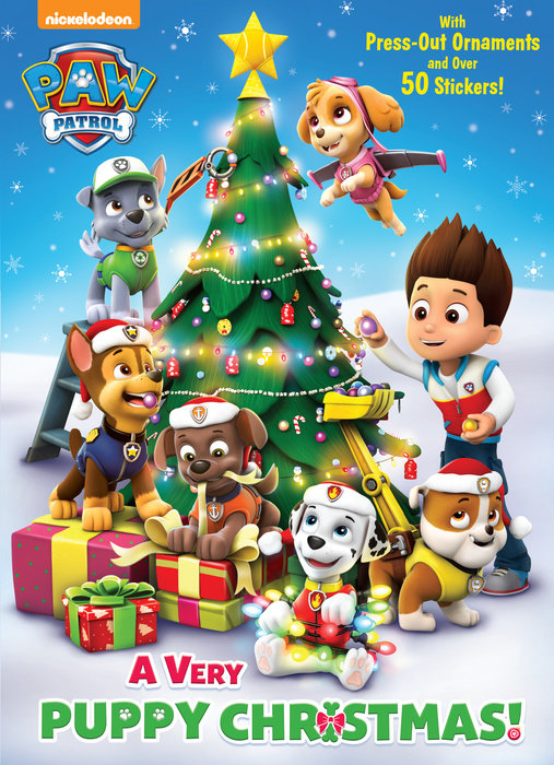 Cover of A Very Puppy Christmas! (PAW Patrol)