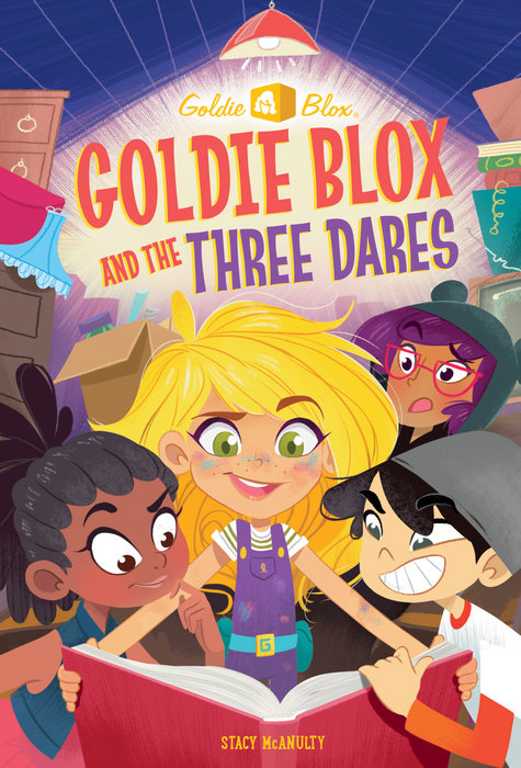 Cover of Goldie Blox and the Three Dares (GoldieBlox)
