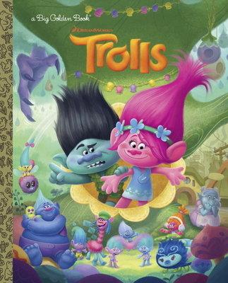 Cover of Trolls Big Golden Book (DreamWorks Trolls)