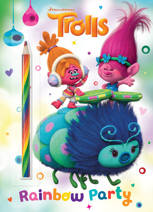 Cover of Rainbow Party! (DreamWorks Trolls)