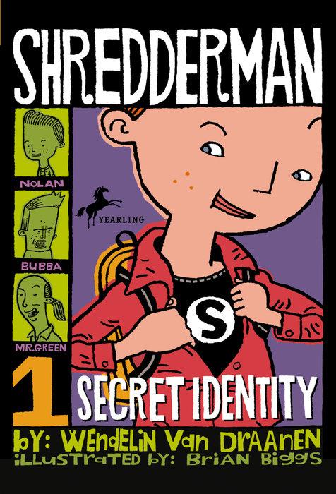 Cover of Shredderman: Secret Identity