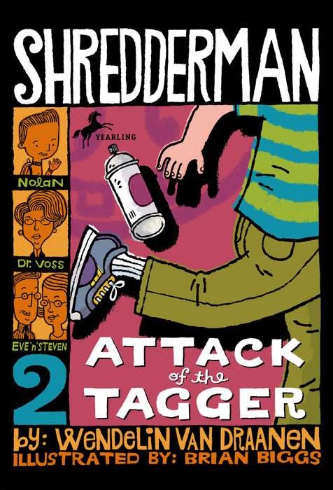 Cover of Shredderman: Attack of the Tagger
