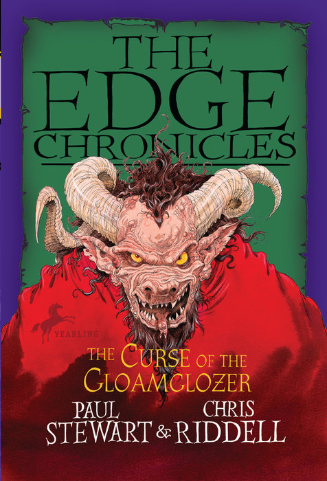 Cover of Edge Chronicles: The Curse of the Gloamglozer