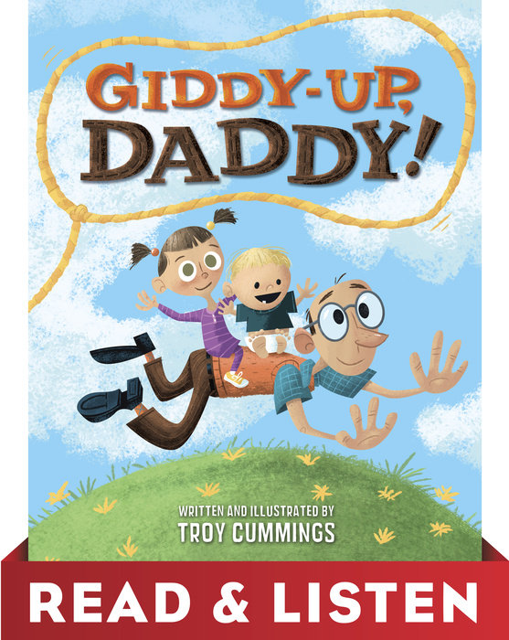 Cover of Giddy-Up, Daddy! Read & Listen Edition