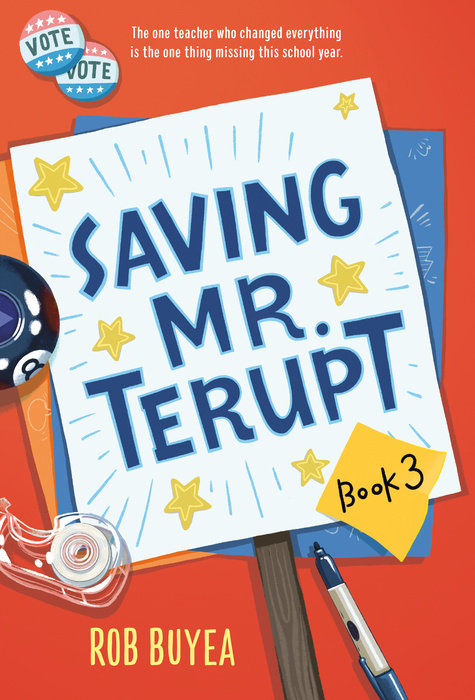 Cover of Saving Mr. Terupt