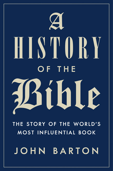 A History of the Bible - Penguin Random House Retail