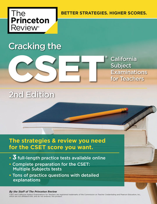 Cracking the CSET, 2nd Edition - The Princeton Review