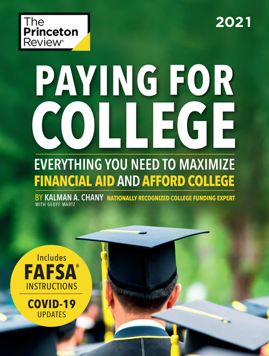 Cover of Paying for College, 2021