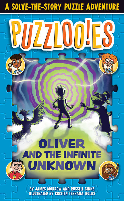 Cover of Puzzlooies! Oliver and the Infinite Unknown