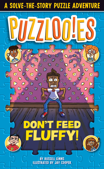 Cover of Puzzlooies! Don\'t Feed Fluffy