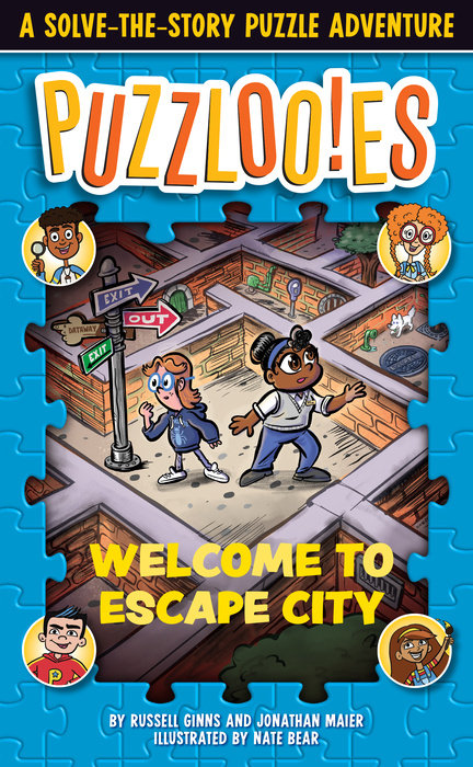 Cover of Puzzlooies! Welcome to Escape City
