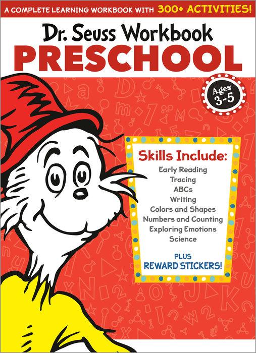 Cover of Dr. Seuss Workbook: Preschool