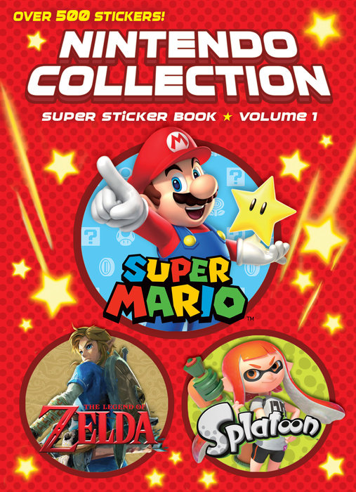 Cover of Nintendo Collection: Super Sticker Book: Volume 1