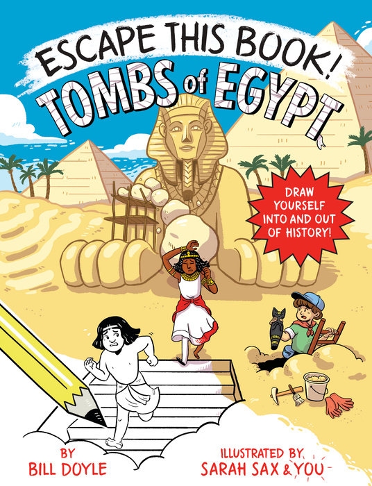 Cover of Escape This Book! Tombs of Egypt