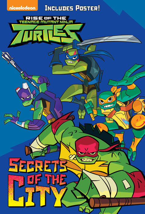 Cover of Secrets of the City (Rise of the Teenage Mutant Ninja Turtles #2)