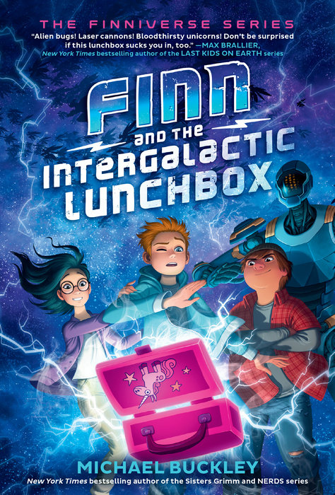 Cover of Finn and the Intergalactic Lunchbox