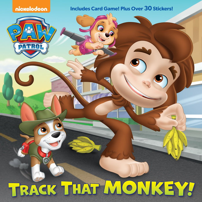 Cover of Track That Monkey! (PAW Patrol)
