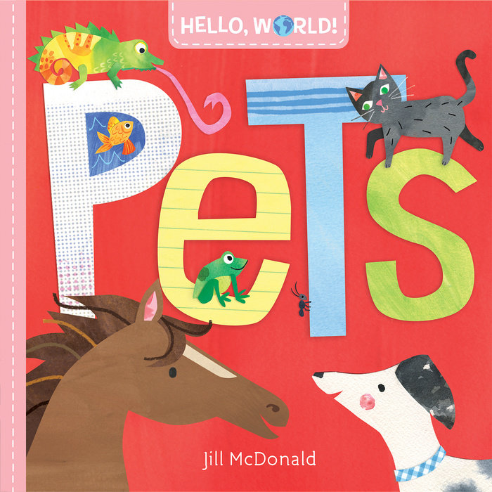 Book cover for Hello, World! Pets