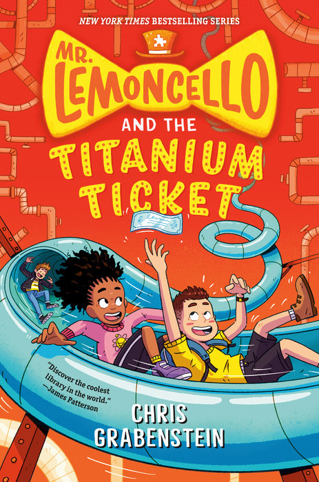 Cover of Mr. Lemoncello and the Titanium Ticket