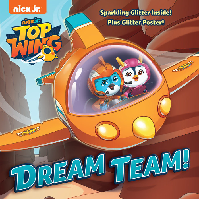 Cover of Dream Team! (Top Wing)