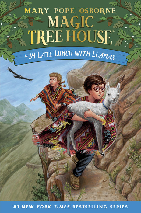 Cover of Late Lunch with Llamas