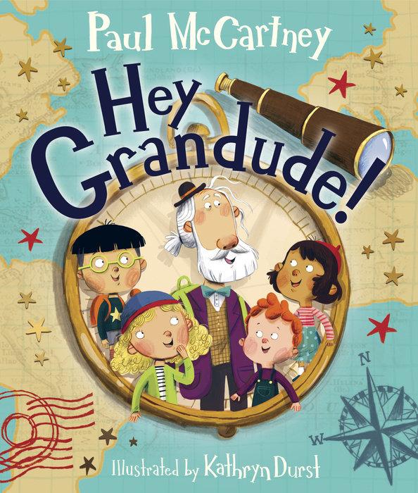 Book cover for Hey Grandude!