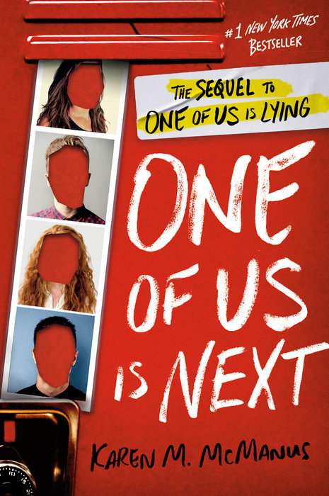 Book cover for One of Us Is Next